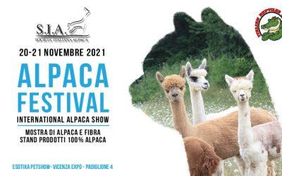 Alpaca Festival – International Alpaca Show 2021 – 20-21 Novembre