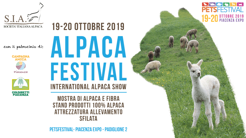 International Alpaca Show – 19-20 Ottobre 2019