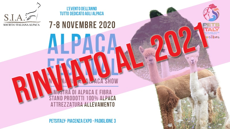 International Alpaca Show 2020 – 7-8 Novembre